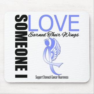Stomach Cancer Someone I Love Earned Their Wings Mouse Pad