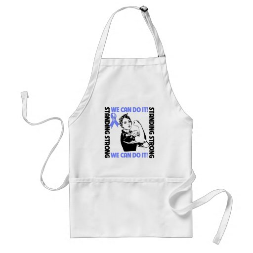 Stomach Cancer Standing Strong We Can Do It Apron