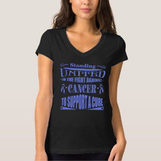 Stomach Cancer Standing United Tee Shirt