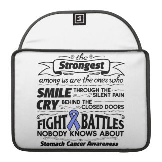 Stomach Cancer Strongest Among Us Sleeve For MacBook Pro