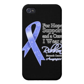 Stomach Cancer Support Hope Awareness iPhone 4 Cases