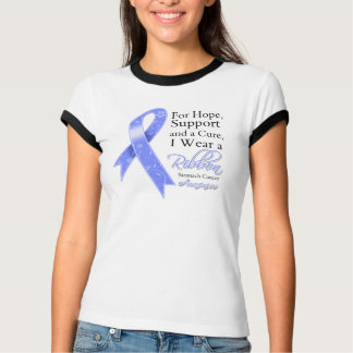 Stomach Cancer Support Hope Awareness Tee Shirts