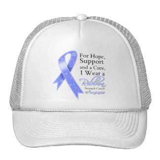 Stomach Cancer Support Hope Awareness Trucker Hat