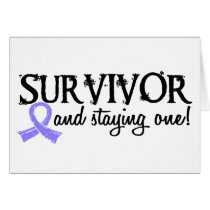 Stomach Cancer Survivor 18 Card