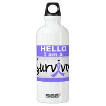Stomach Cancer Survivor 24.png Water Bottle
