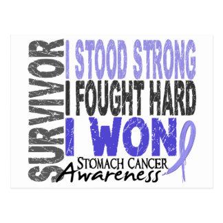 Stomach Cancer Survivor 4 Postcard
