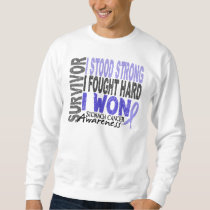Stomach Cancer Survivor 4 Sweatshirt