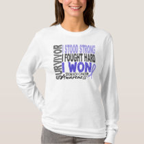 Stomach Cancer Survivor 4 T-Shirt