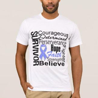 Stomach Cancer Survivor Collage T-Shirt