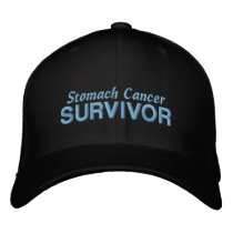 Stomach Cancer Survivor Embroidered Baseball Hat