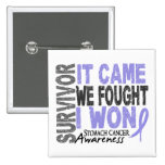Stomach Cancer Survivor It Came We Fought I Won Pin