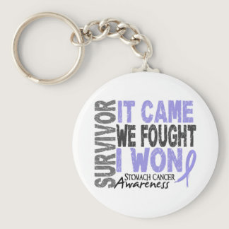 Stomach Cancer Survivor It Came We Fought I Won Keychain