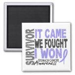 Stomach Cancer Survivor It Came We Fought I Won Magnet