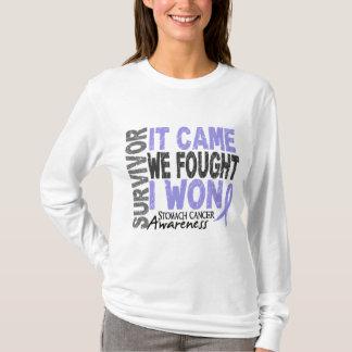 Stomach Cancer Survivor It Came We Fought I Won T-Shirt