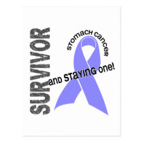 Stomach Cancer Survivor Postcard