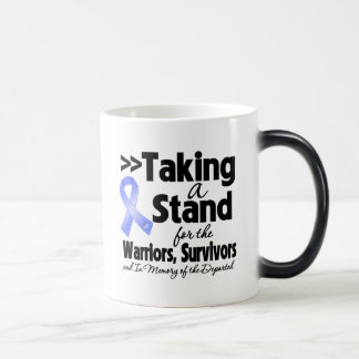 Stomach Cancer Taking a Stand Tribute 11 Oz Magic Heat Color-Changing Coffee Mug
