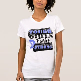 Stomach Cancer Tough Girls Fight Strong Tee Shirt
