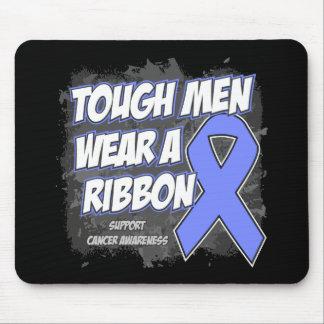 Stomach Cancer Tough Men Wear A Ribbon Mouse Pad