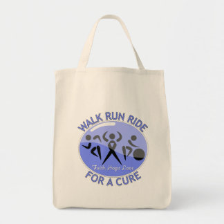 Stomach Cancer Walk Run Ride For A Cure Tote Bags