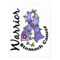 Stomach Cancer Warrior 15 Postcard