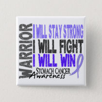 Stomach Cancer Warrior Pinback Button