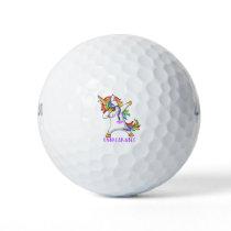 STOMACH CANCER Warrior Unbreakable Golf Balls