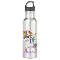 STOMACH CANCER Warrior Unbreakable Stainless Steel Water Bottle