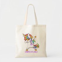 STOMACH CANCER Warrior Unbreakable Tote Bag