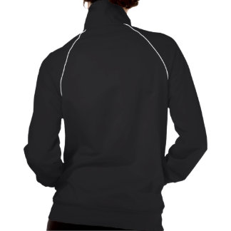Stomach Cancer We Can Do It (Asian Rosie) American Apparel Fleece Track Jacket