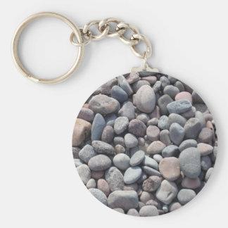 Stomes, pebbles design key chain