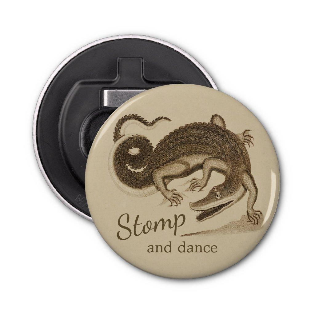 Stomp and dance CC0893 Wild happy crocodile