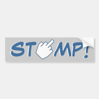 STOMP! - Detroit Football Bumper Sticker