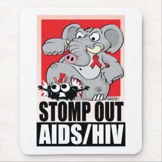 Stomp Out AIDS/HIV Mouse Pad