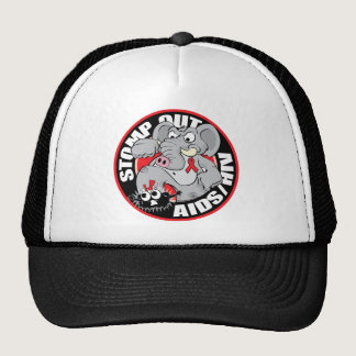 Stomp Out AIDS/HIV Trucker Hat