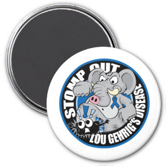 Stomp Out ALS 3 Inch Round Magnet