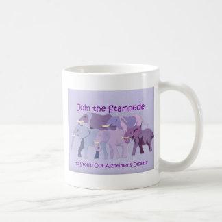 Stomp Out Alzheimer's Coffee Mug