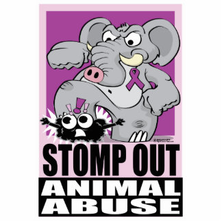 Stomp Out Animal Abuse Statuette