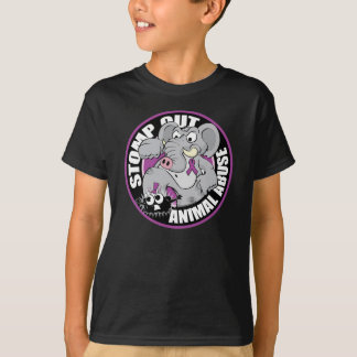 Stomp Out Animal Abuse T-Shirt