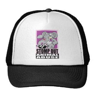 Stomp Out Animal Abuse Trucker Hat
