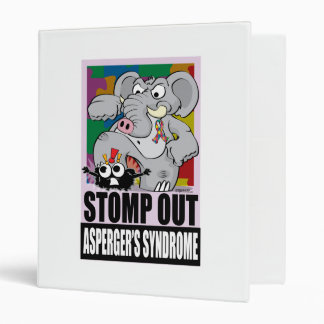 Stomp Out Asperger's Syndrome Binder