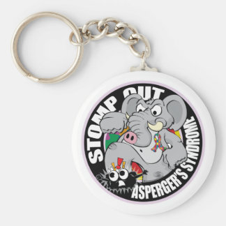 Stomp Out Asperger's Syndrome Keychain