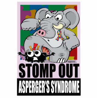 Stomp Out Asperger's Syndrome Statuette