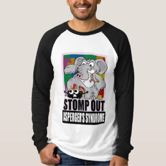 Stomp Out Asperger's Syndrome T-shirt