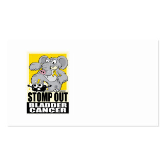 Stomp Out Bladder Cancer Business Card