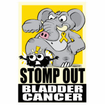 Stomp Out Bladder Cancer Statuette