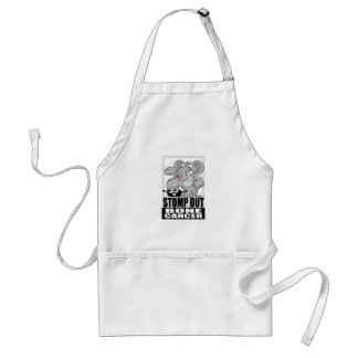 Stomp Out Bone Cancer Adult Apron