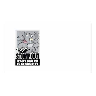 Stomp Out Brain Cancer Business Card
