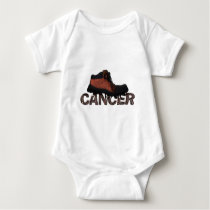Stomp Out Cancer - Multi Products Baby Bodysuit