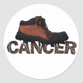 Stomp Out Cancer - Multi Products Classic Round Sticker