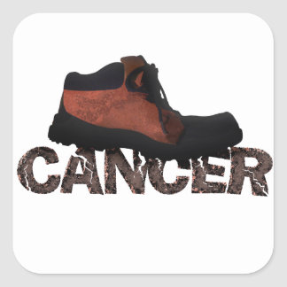 Stomp Out Cancer - Multi Products Square Sticker
